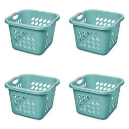 Sterilite, 1.5 Bushel/53 L Ultra Square Laundry Basket, Teal
