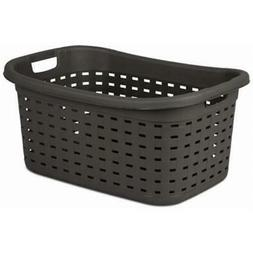 Sterilite 12756P06 Weave Laundry Basket, Espresso Color, 26""