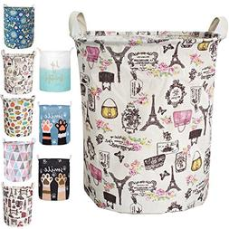Merdes 19.7'' Waterproof Foldable Laundry Hamper, Dirty