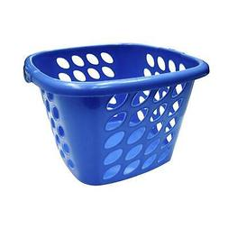 Compac Home Always Fresh Plastic Square Laundry Basket - Oce