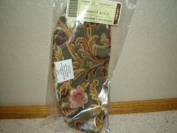 Longaberger Basket Little Laundry Majolica Garden Fabric Lin