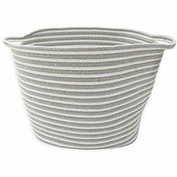 Berry Laundry Baskets Ave. Woven - Rope Made With 100% Cotto