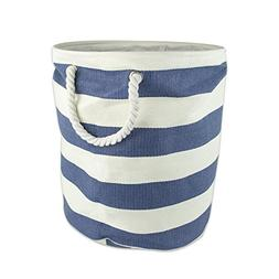 DII Woven Paper Basket or Bin, Collapsible & Convenient Home