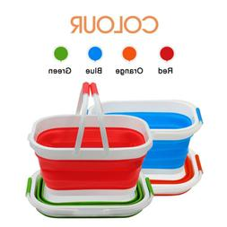 collapsible plastic laundry basket foldable pop up