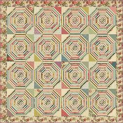 Cottage Rose Quilt Pattern by Edyta Sitar Laundry Basket Qui