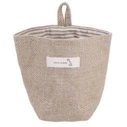 Cotton Linen Basket for Laundry Sundries Toys Baby Boys and