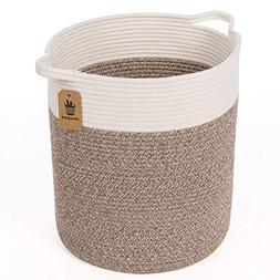 Goodpick Medium Cotton Rope Basket - Woven Basket - Baby Lau
