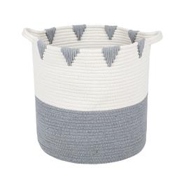 Cotton Rope Woven Storage Basket Baby Laundry Nursery Toys B