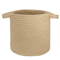 "Farm Braided Laundry Basket  - Sandcastle 16""x16""x20"""