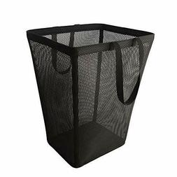 Foldable Laundry Hamper Basket Large Clothes Reinforced Edge