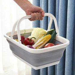 Folding Collapsible Home Camping Laundry Basket Kitchen Stor