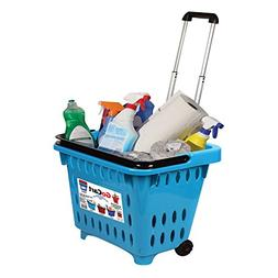 dbest products Go-cart, Shopping Basket, Teal
