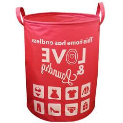 Home Kitchen Laundry Basket Bags Clothes Hamper Storage Toy
