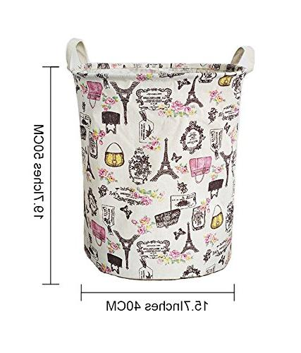 Merdes Waterproof Foldable Laundry Hamper, Dirty Laundry Storage Organizer for Collection