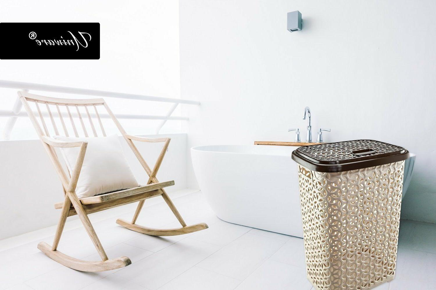 60 Liter Hollow Design Clothes Basket,Made In