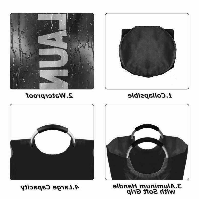82L Laundry Basket Collapsible Laundry Foldable Clothes