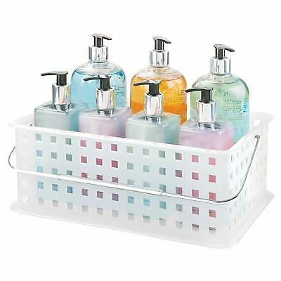 Bath Carrier Basket Stackable Toys Cleaning Supplies Office