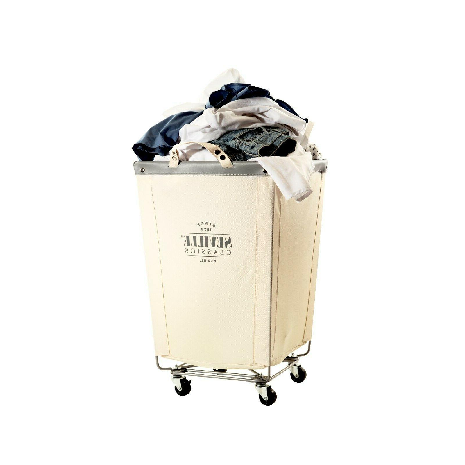 COMMERCIAL HEAVY-DUTY LAUNDRY REMOVABLE HAMPER WHEELS,