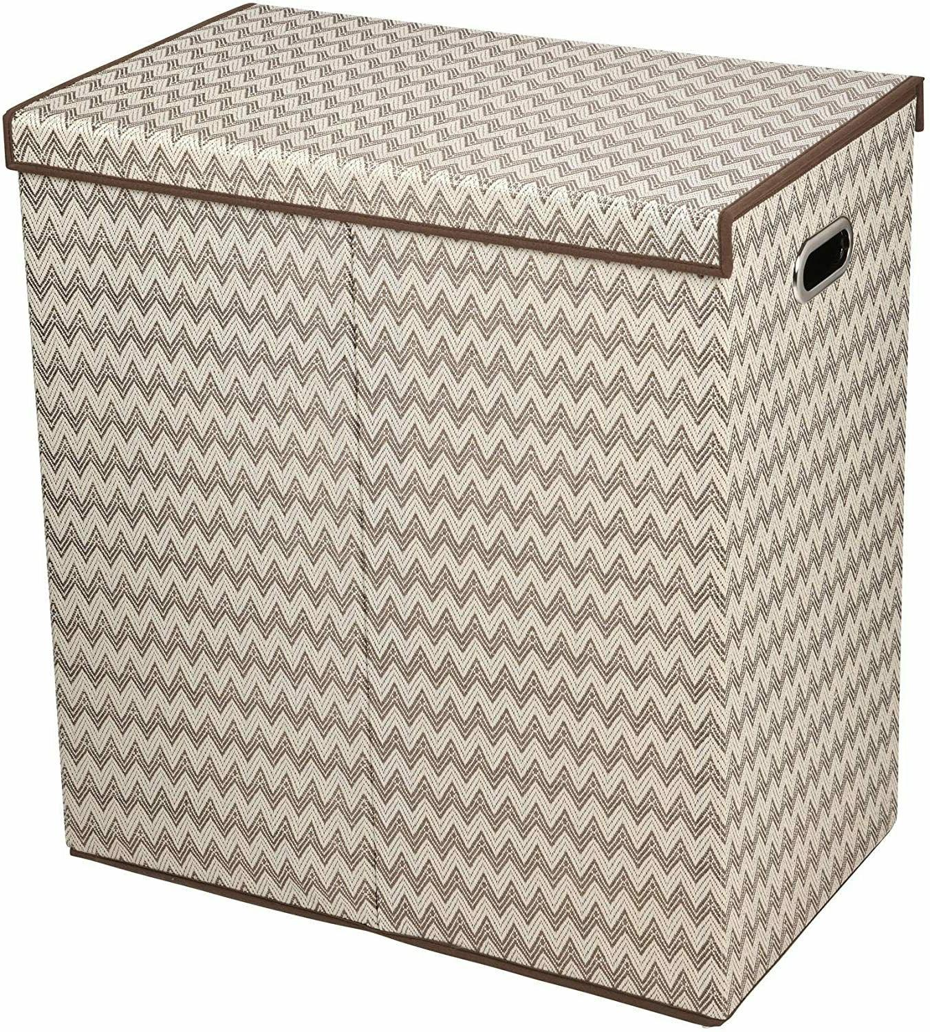 Double Soft Fabric Clothes Bin