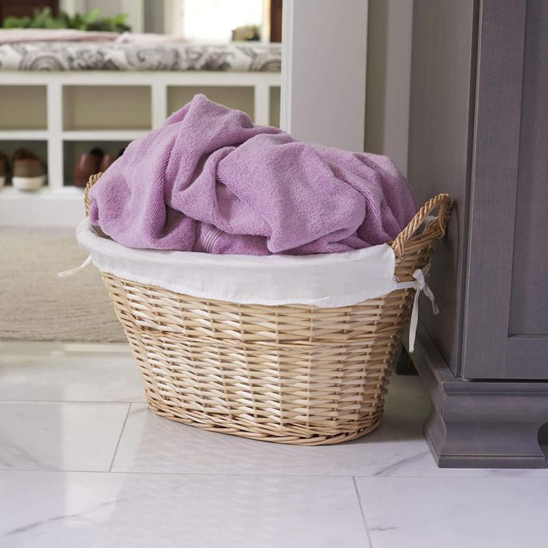 Household Essentials Ml-5569 Wicker Laundry Handles And