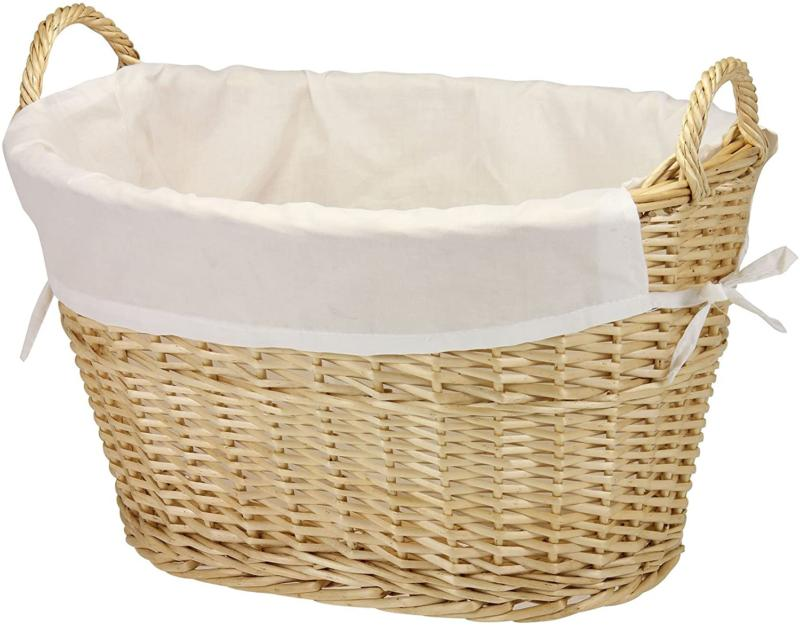 household essentials ml 5569 willow wicker laundry