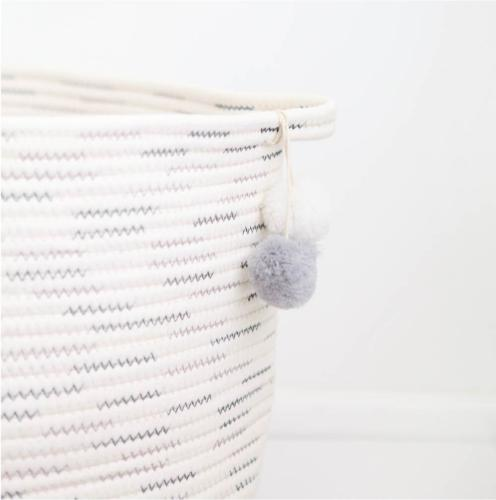 Laundry Storage Cotton Rope for Toys, Baby Girls