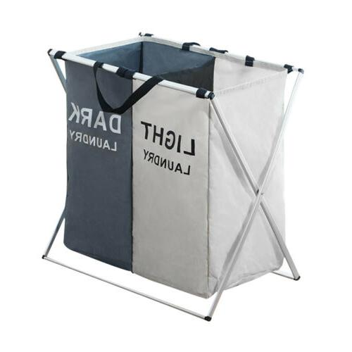 Laundry Sections Hamper Storage Tool