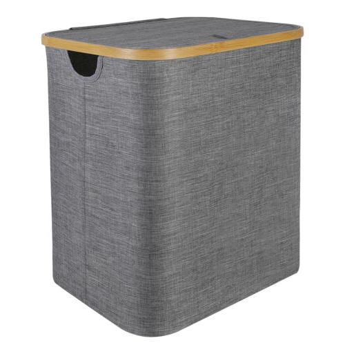 Large Collapsible Laundry Hamper Foldable Clothes Basket Sto