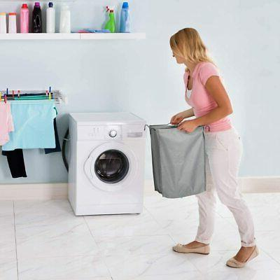 Laundry Clothes Basket Hollyhome Cart With Foldable Ironing Board