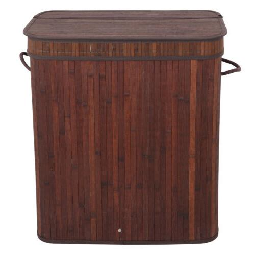 Laundry 2 Dirty Basket Double Compartment