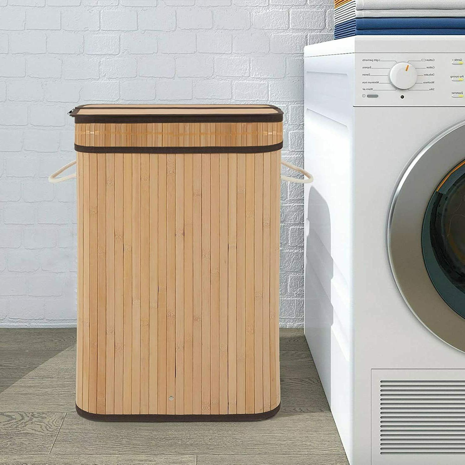 Laundry Hamper with 72L Basket with
