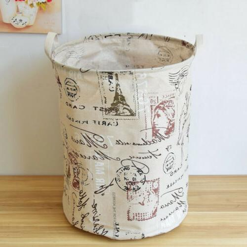 Laundry Room Tote Storage Bucket Bin Basket Home Collections