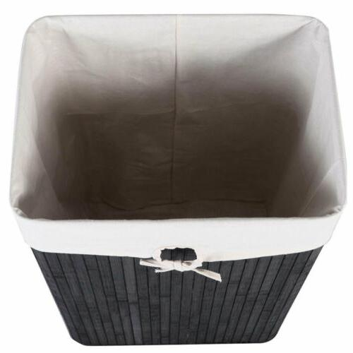 Rectangle Washing Cloth Storage Bin Lid