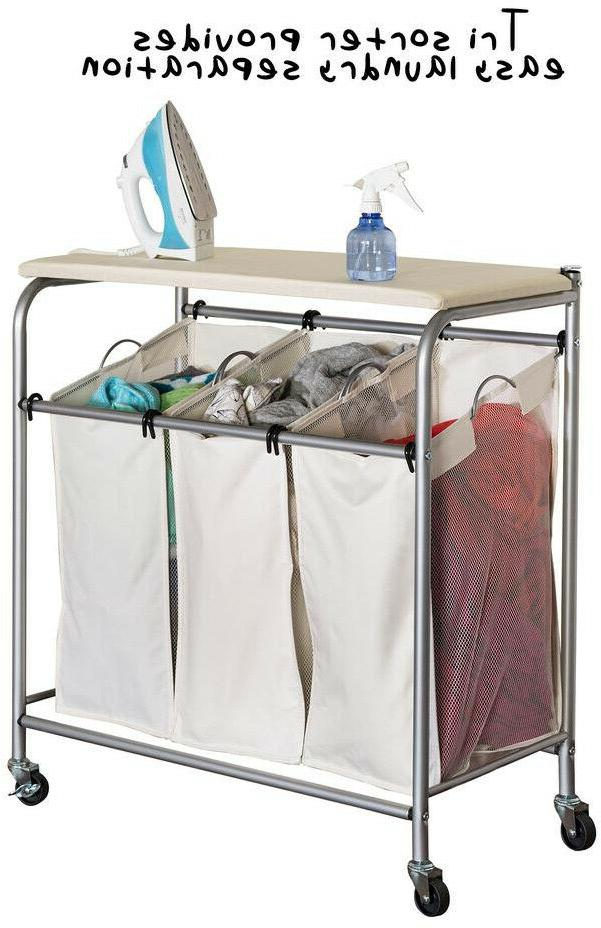 Rolling Laundry Cart Bag Mobile