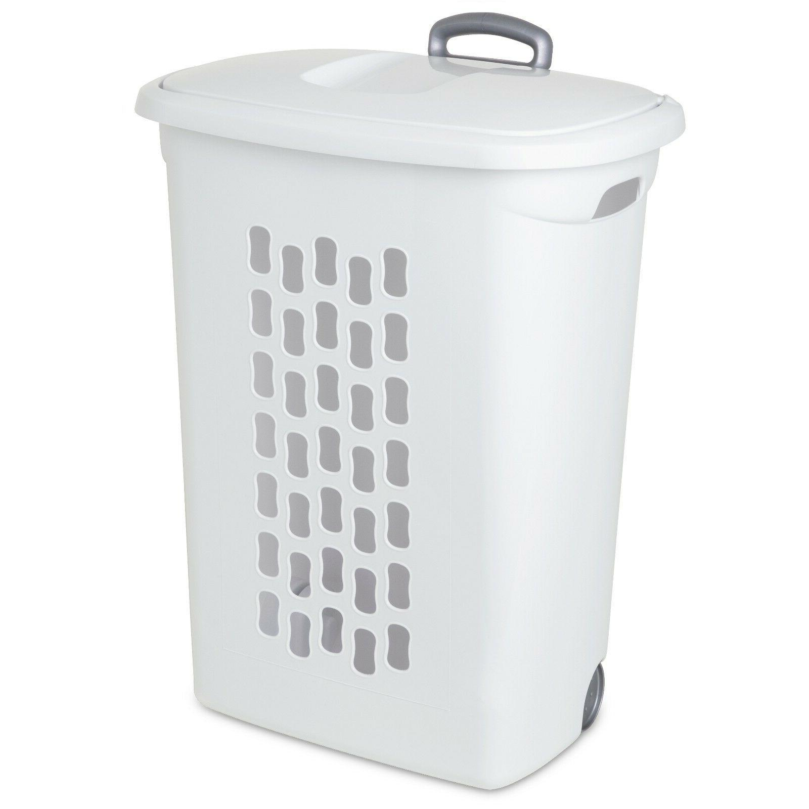 Wheeled Pack Clothes Hamper With
