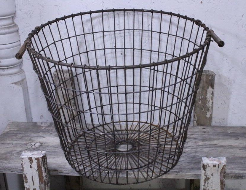 Wrought Basket Industrial Container