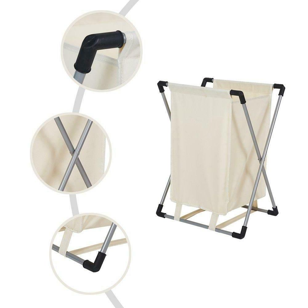 Single Basket Laundry Hamper with Apartment