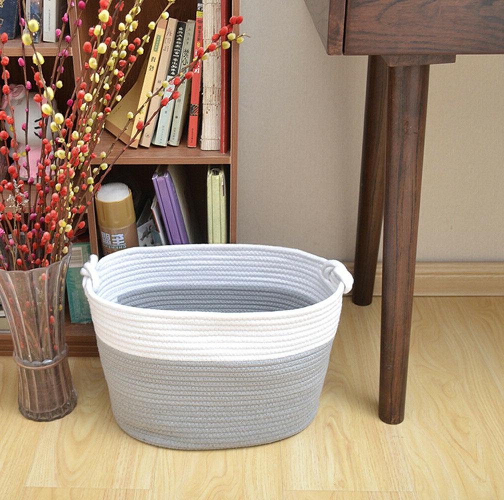 xxxl woven hamper basket with handles collapsible