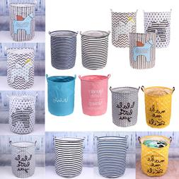 Large Kid Baby Clothes Toys Storage Basket Laundry Hanging D