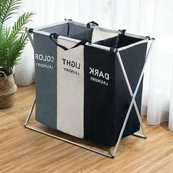 Large Oxford Washing Clothes Laundry Basket Bin Hamper Stora