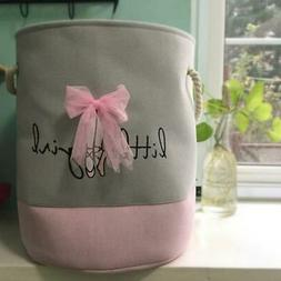 laundry basket for dirty clothes pink ballet