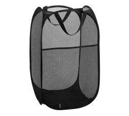 Laundry Basket Large Foldable Mesh Hamper Washing Clothes Ba
