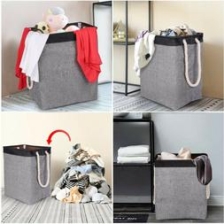 Laundry Basket With Handles Linen Hampers Clothes Storage Cl