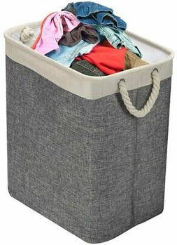 Sorbus Laundry Hamper Basket with Carry Handles & Detachable
