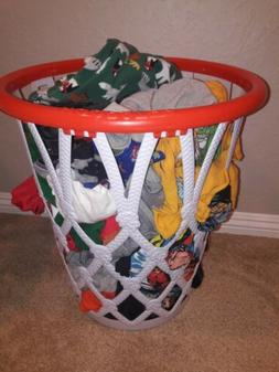 NEW Huge Hoopster Basketball Rim and Net Laundry Basket by G