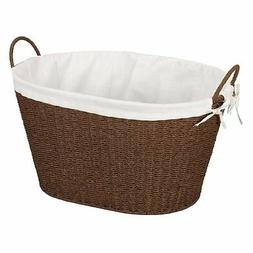 Household Essentials Paper Rope Laundry Basket