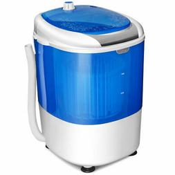Portable Mini Counter Top Washing Machine 5.5lbs Spin Basket