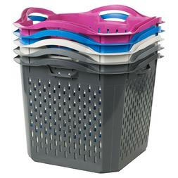 stack able washing clothes hamper laundry basket