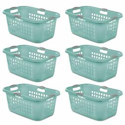 Sterilite Ultra 2 Bushel Plastic Stackable Clothes Laundry B