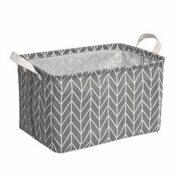 Waterproof Laundry Clothes Basket Cloth Storage Box Sundries